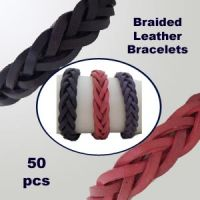 12mm Braided Leather Bracelet