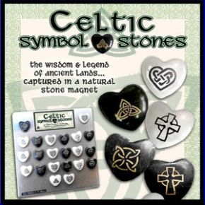 Celtic Stone Magnet Display Stand