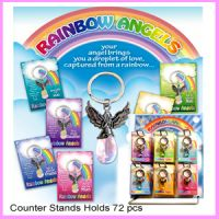 Rainbow Angels Keyrings Top Up